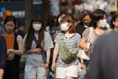 En Corea del Sur el gobierno sigue la posición de cada persona que está identificada como contagiada por coronavirus