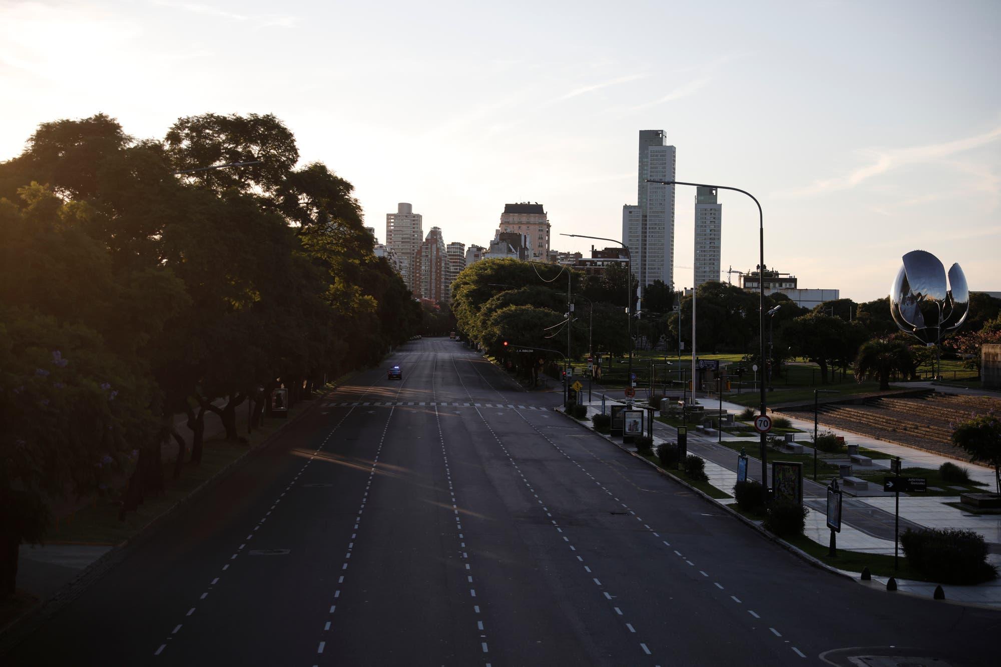Coronavirus en la Argentina. Buenos Aires no corre: crónica de un sábado libre de runners