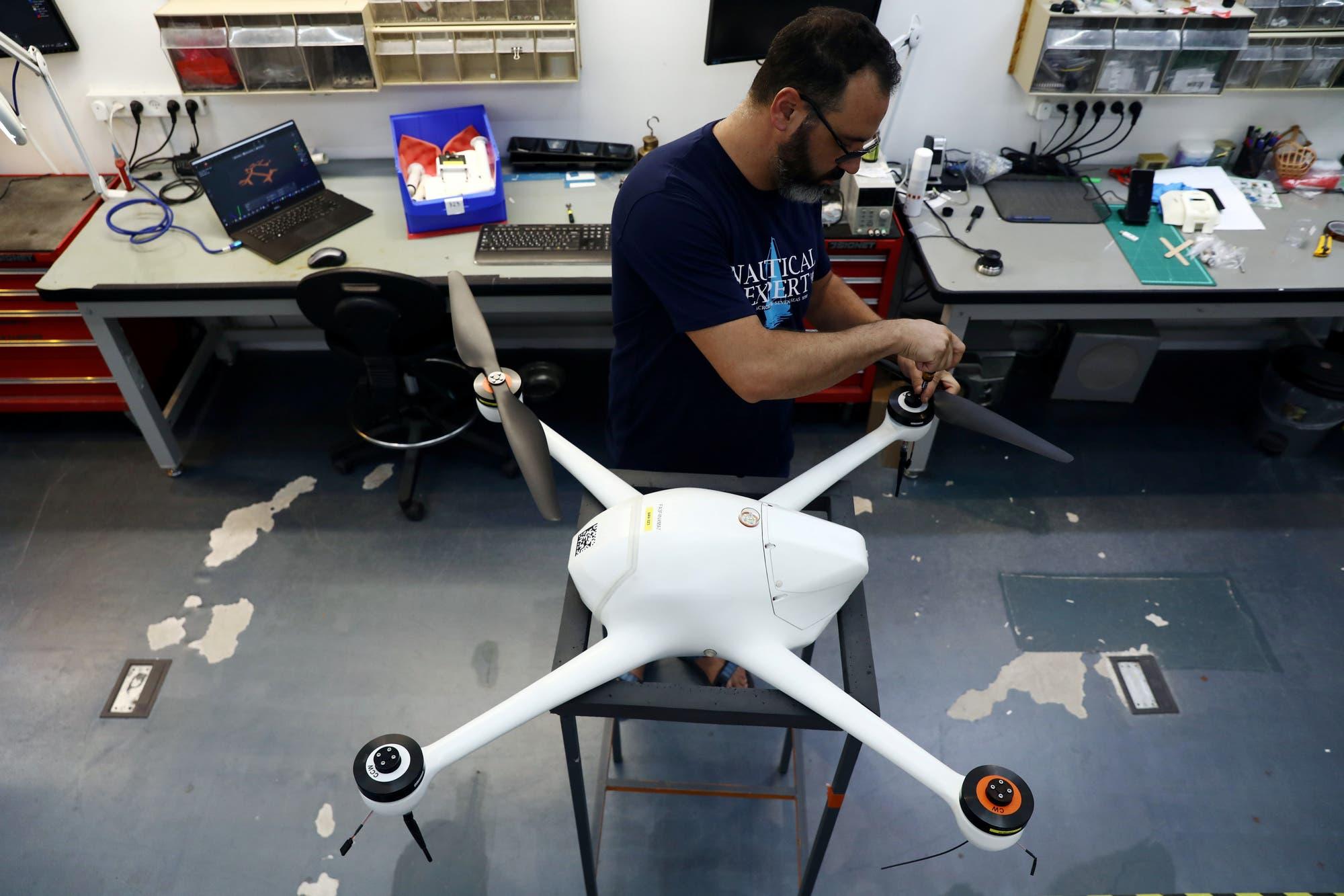 Con drones: Singapur controla desde el aire las medidas de distanciamiento social