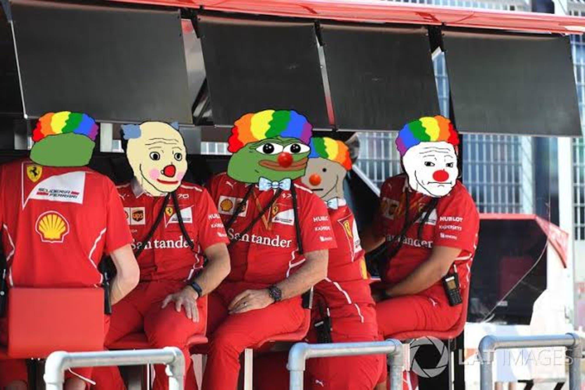 Crisis en Ferrari: los memes, las cargadas y los mejores tuits de la peor clasificación en la temporada en el GP de Bélgica