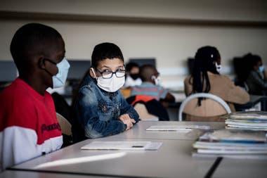 La vuelta a clases en Francia