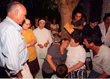 Los padres de María Soledad, después de la sentencia