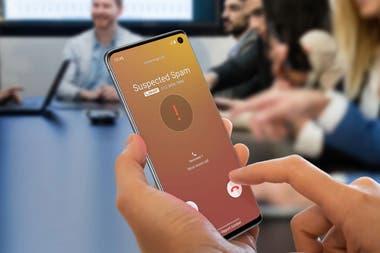 Hiya es una app que avisa cuando otros usuarios reportaron un número de teléfono como de spam o fraude