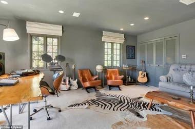 Katy Perry diseñó su propia sala de ensayo en su hogar: la música siempre está presente en su vida