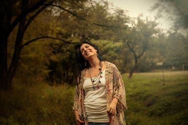 Ana Robles, en un buen momento de su profesión