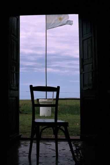 Esquina de Argúas, abierto desde que sale el sol hasta caer la noche, en el camino a la estancia El Durazno (Foto Martín Lucesole)