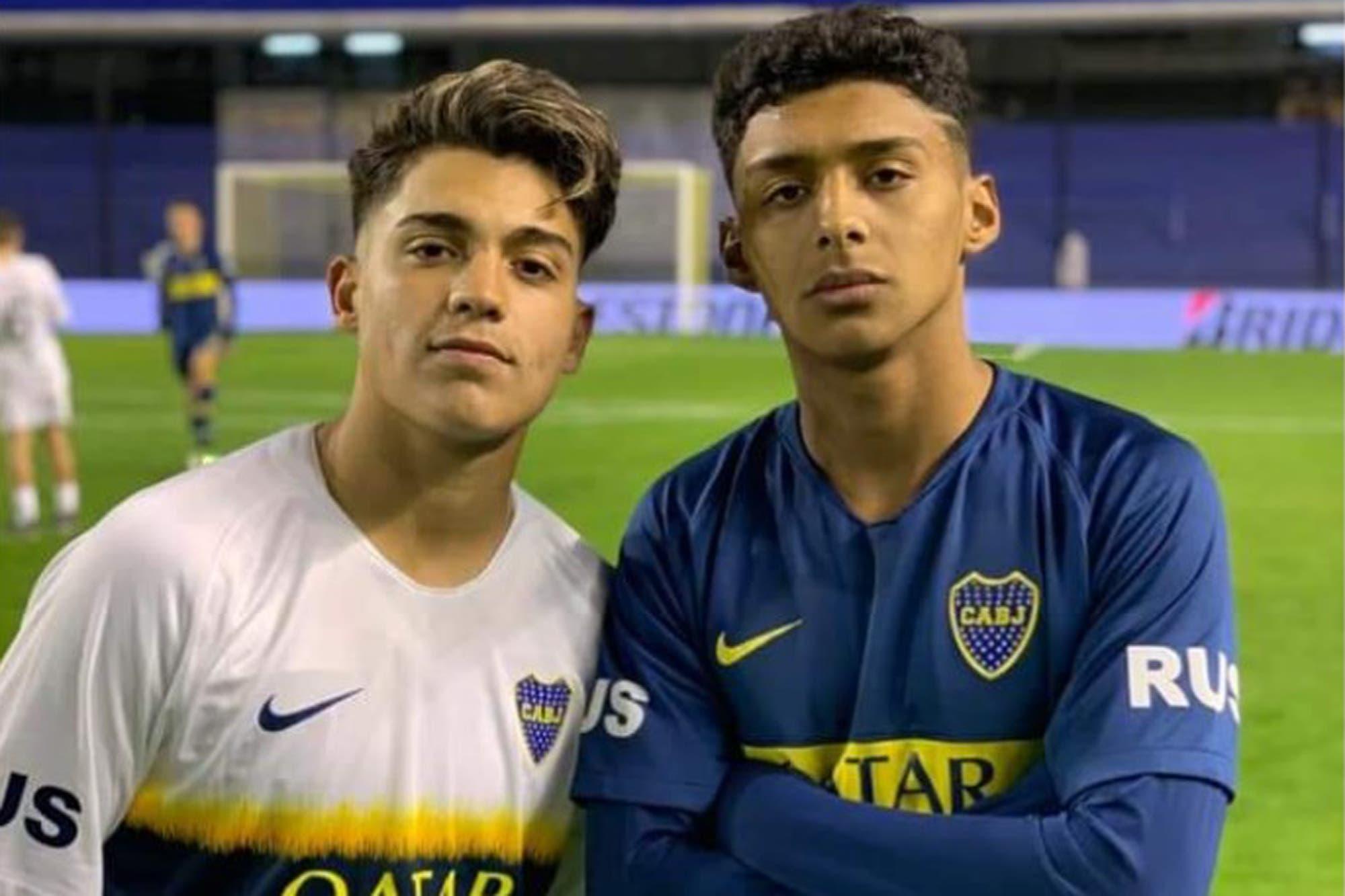 Cristian Medina y Exequiel Zeballos: ¿quiénes son las joyas que debutarían en Boca frente a Lanús?