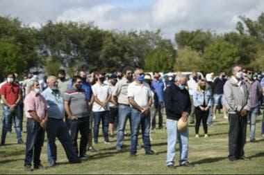 La primera asamblea organizada por productores autoconvocados se llevó a cabo en la Sociedad Rural de Bell Ville, en Córdoba