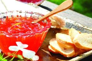 Mermelada de pomelos rosados