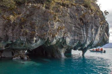 Capillas de Mármol, en el lago General Carrera. Gustavo Castaing