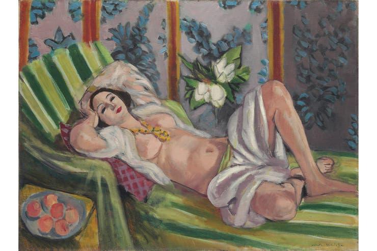 Odalisca con magnolias (1923), de Henri Matisse, saldrá a la venta con una base estimada entre 50 y 70 millones