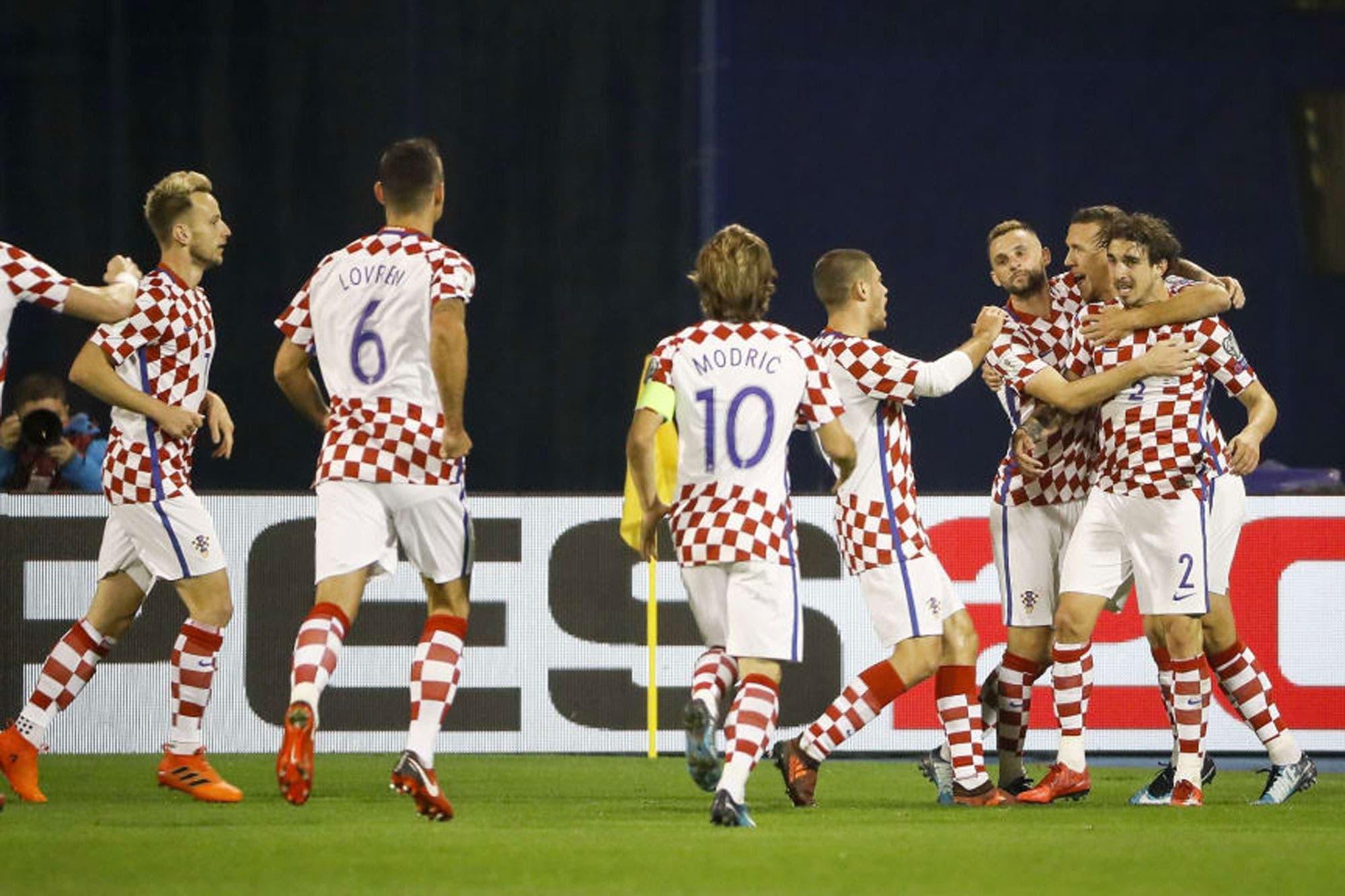 f88b1a8bc0 La selección de Croacia presentó la lista de 23 convocados para el Mundial  Rusia 2018 - LA NACION
