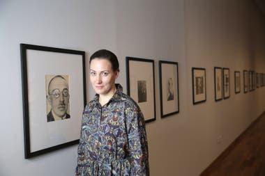 Irina Chmyreva, curadora de la primera muestra de Rodchenko que se expone en Buenos Aires