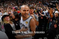 Tony Parker se despidió de San Antonio en The Players Tribune: una carta al estilo Spurs