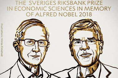 William D. Nordhaus y a Paul M. Romer fueron los elegidos de 2018