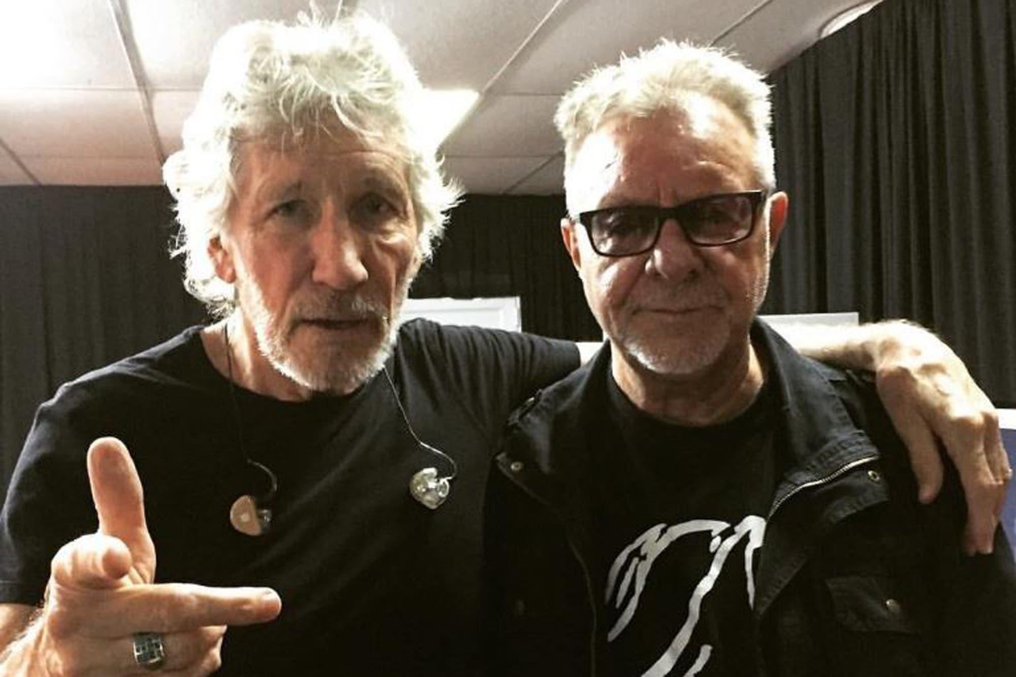 León Gieco, el gran invitado de Roger Waters en su segundo show en el Estadio Único