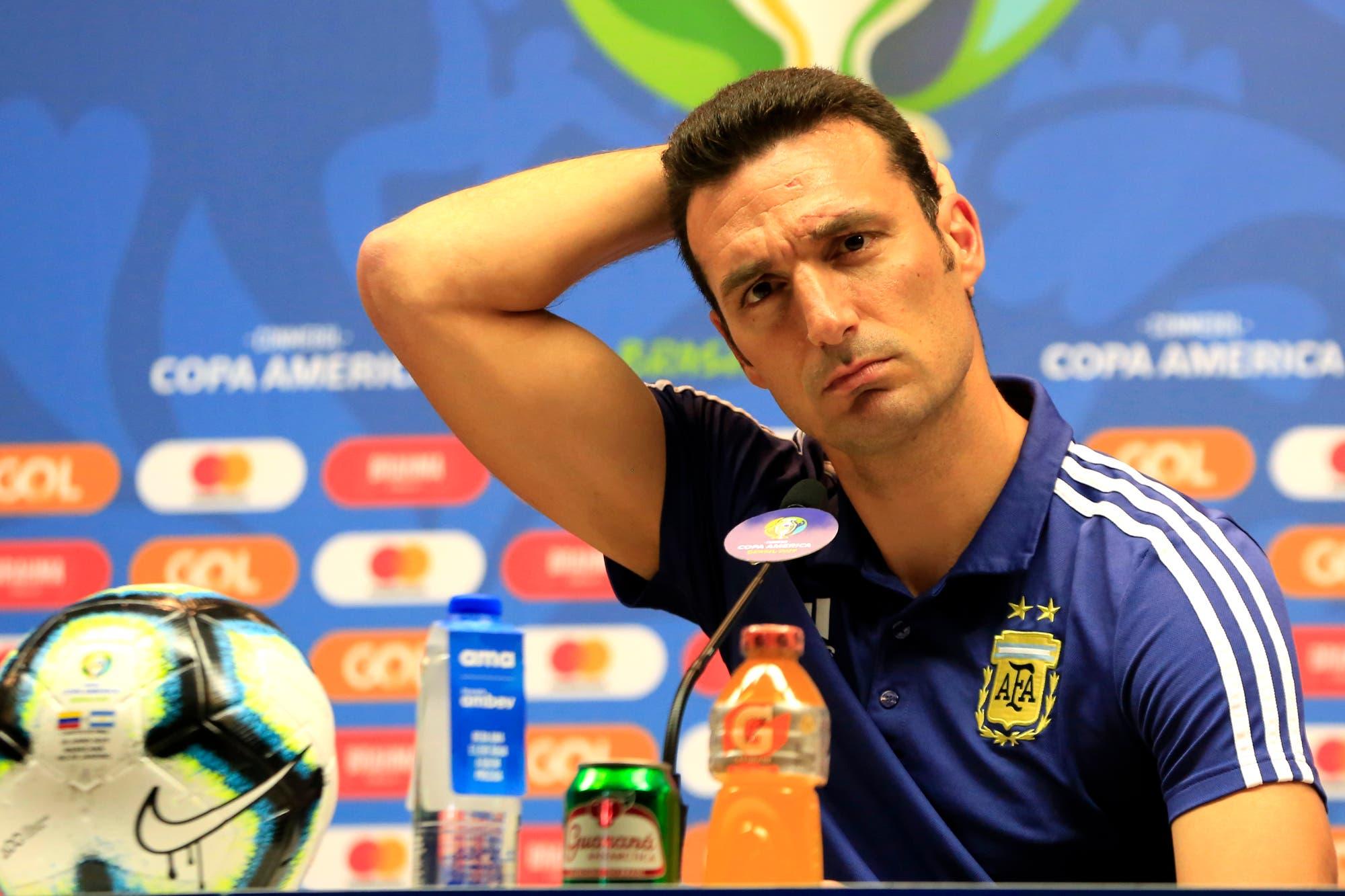 Copa América: lo que respondió Lionel Scaloni sobre su relación con César Luis Menotti