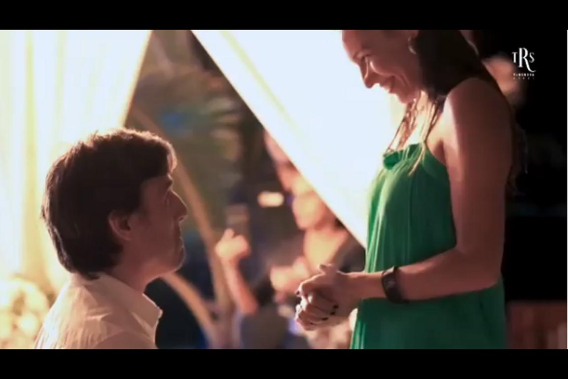El gran momento de la propuesta de casamiento donde Pampita dio el Sí