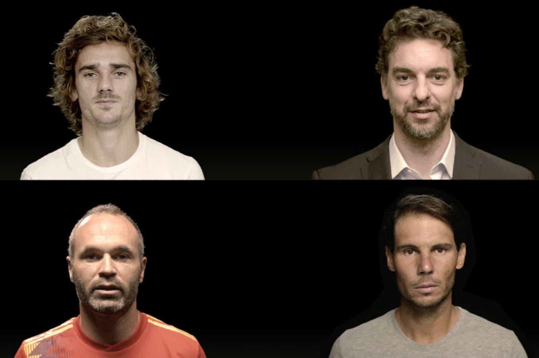 Copa Davis: Piqué juntó a ocho campeones del mundo para el video presentación del torneo
