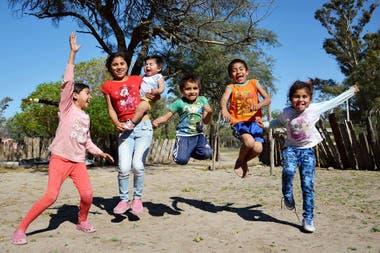 Más de 300 chicos recibieron tratamiento nutricional.