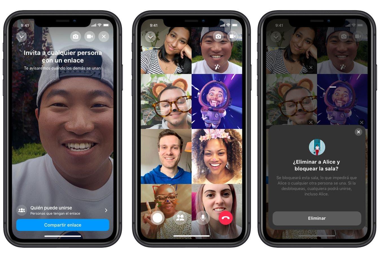 Messenger Rooms, el arma de Facebook para competir con las videollamadas de Zoom
