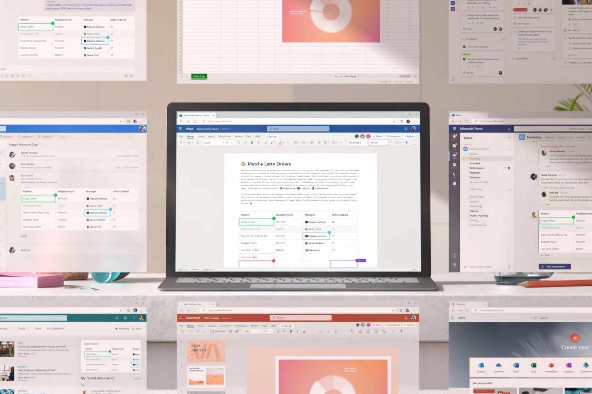 Microsoft presenta Fluid, su espacio de trabajo colaborativo online con herramientas de Office