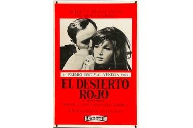 El desierto rojo, de Michelangelo Antonioni, disponible en Qubit.TV