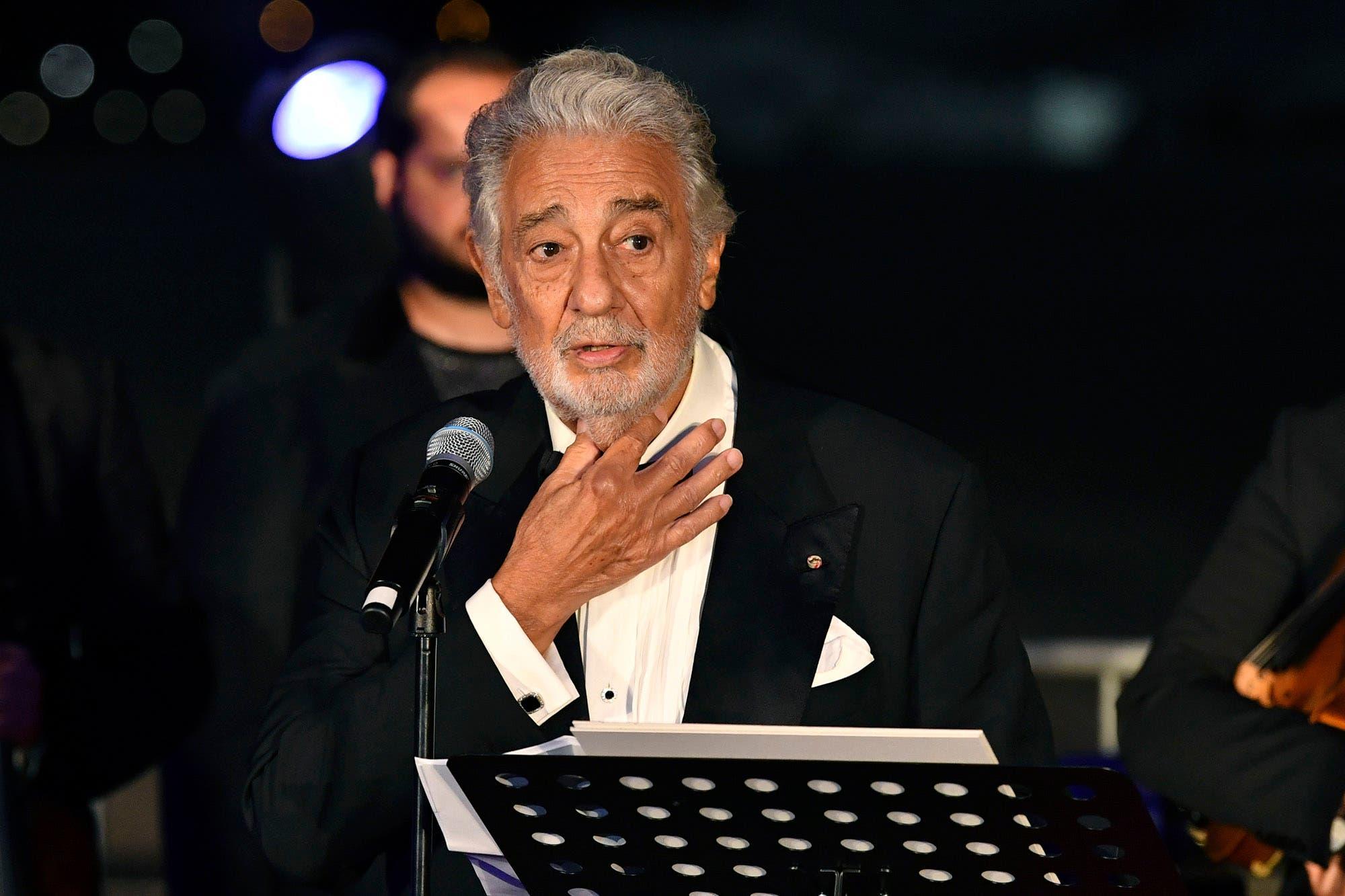Plácido Domingo, premiado en Salzburgo, negó ser un abusador sexual