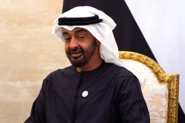 El príncipe heredero de Abu Dhabi, Mohhamed Bin Zayed