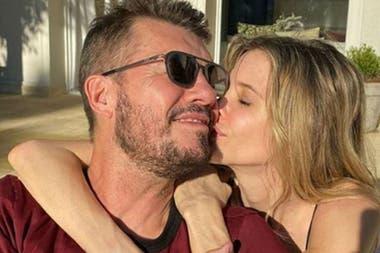 La pareja había anunciado su reconciliación a mediados de agosto, mediante un mensaje que Tinelli le envió al periodista Jorge Rial