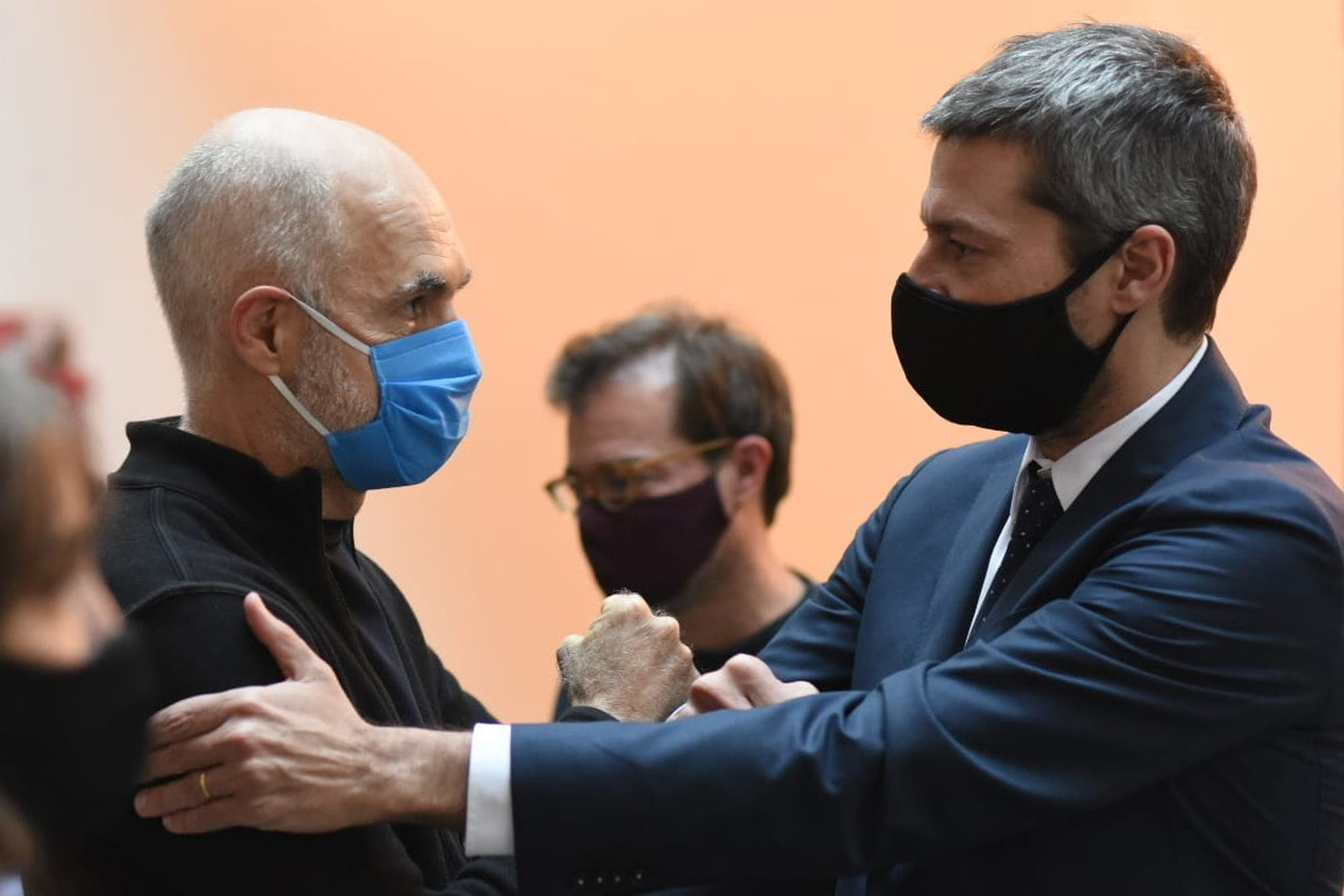 Con gestos, Rodríguez Larreta y Lammens bajan la tensión entre la Ciudad y la Nación tras el recorte de fondos