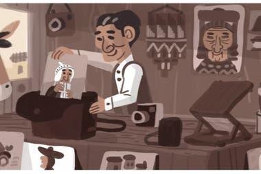Google celebra a Martín Chambi