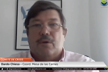 Dardo Chiesa, coordinador de la Mesa de Carnes dijo que no es factible armar un fideicomiso de maíz