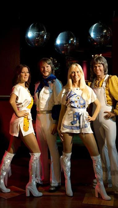 ABBA, en la década del 70