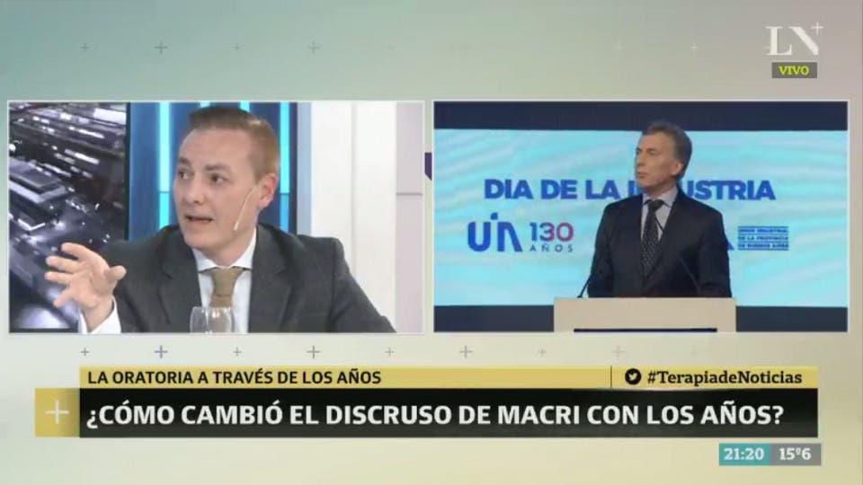 El especialista en comunicación José María Rodríguez Saráchaga, que asesoró a Mauricio Macri entre el 2007 y 2010, estuvo en Terapia de Noticias