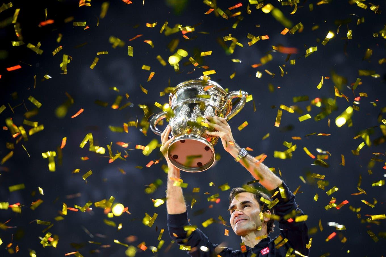 La evolución de Roger Federer en 25 años: de alcanzapelotas a nueve veces campeón en el torneo de Basilea