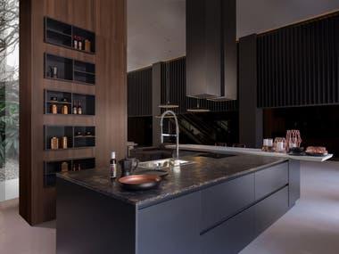 Minimalismo: la gran tendencia en muebles de cocina - LA NACION
