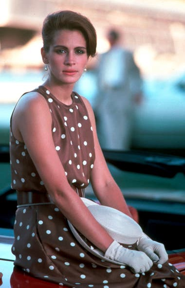 Julia Roberts en Pretty Woman (1990).