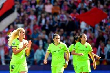 Atlético Madrid y Barcelona quebraron un récord mundial de fútbol femenino  de clubes c3766920c44f9