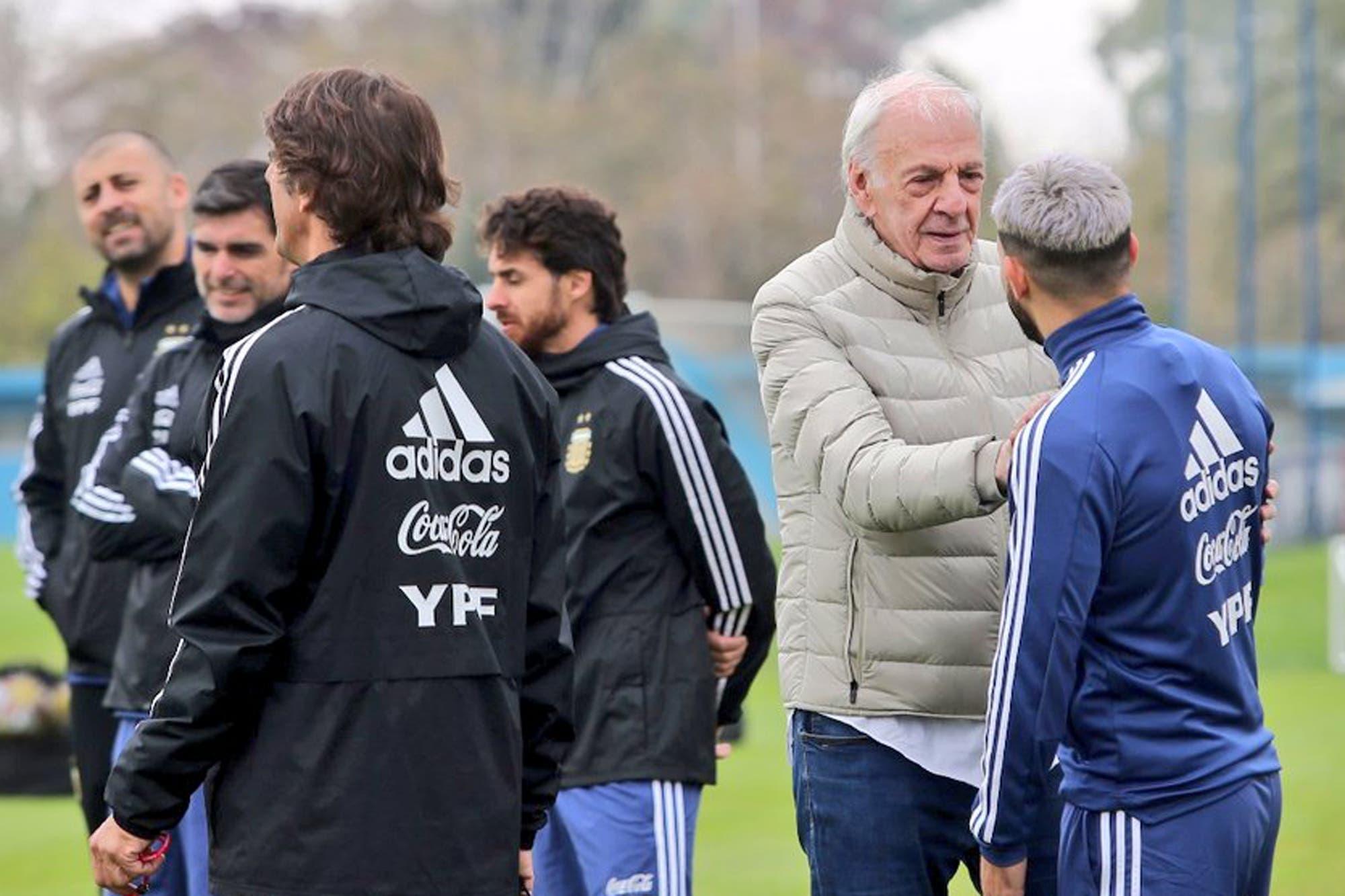 Con Agüero y sin Messi: así fue el primer entrenamiento de la Argentina de cara a la Copa América
