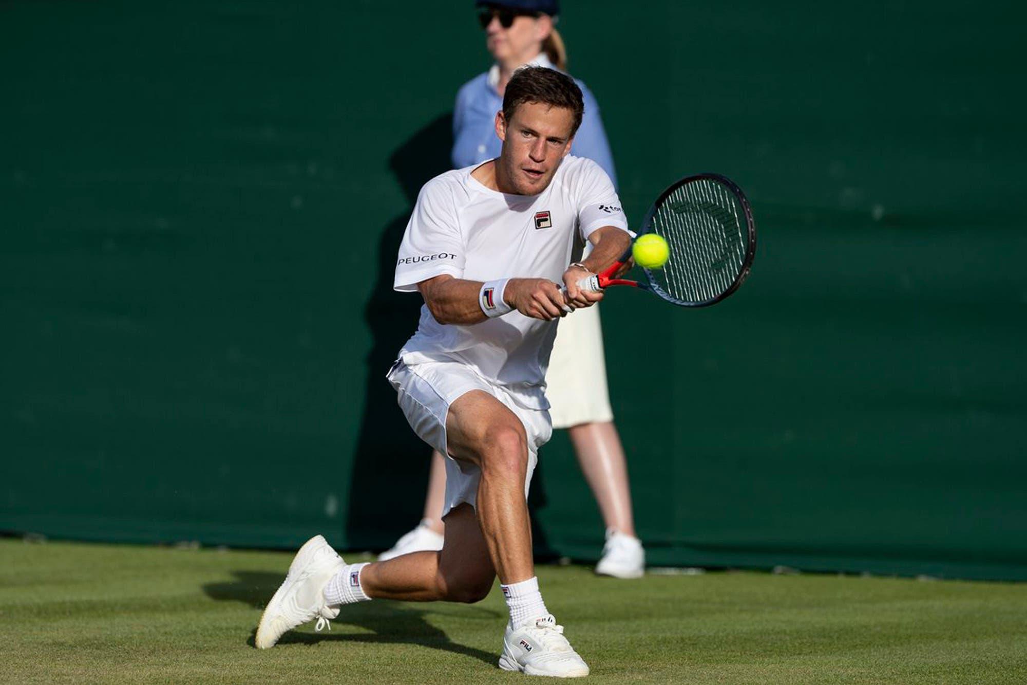 Diego Schwartzman-Dominik Koepfer, Wimbledon: el Peque se metió en la tercera rueda