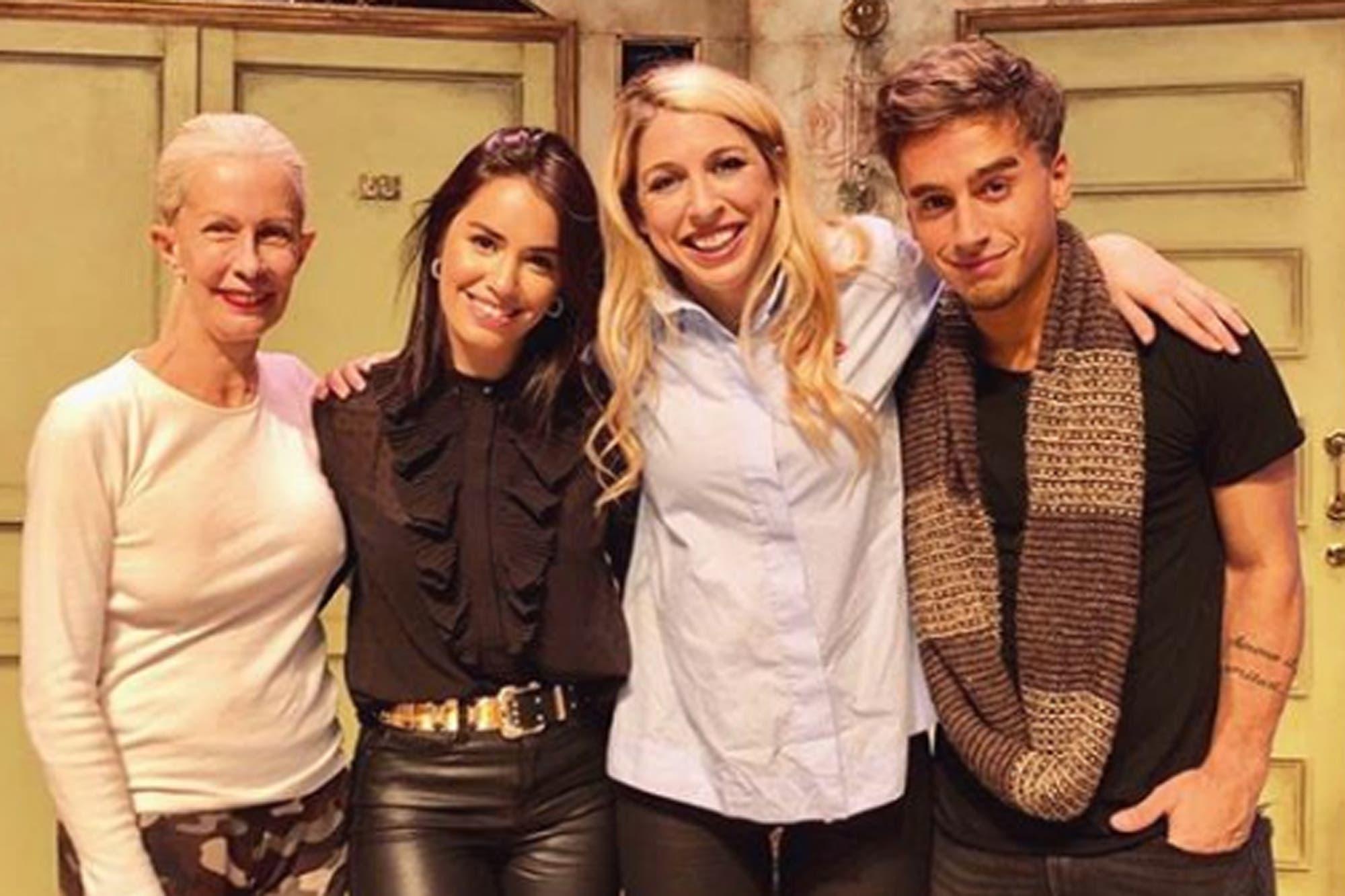El emocionante reencuentro de tres actores de Floricienta, 15 años después