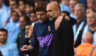 Guardiola y Pochettino construyeron una relación de admiración y respeto recíprocos.