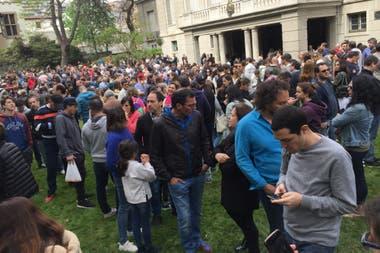 Los argentinos residentes votaron en Santiago de Chile