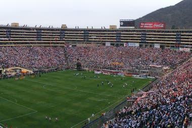 El Monumental tiene capacidad para 80.000 espectadores