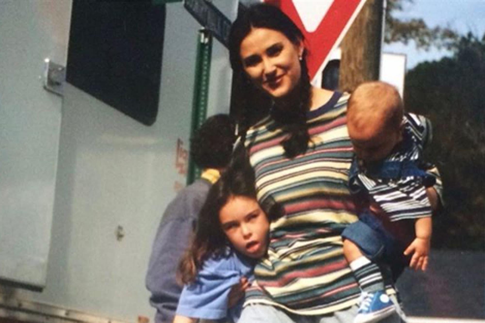 Demi Moore y el posteo retro que causó furor en las redes sociales