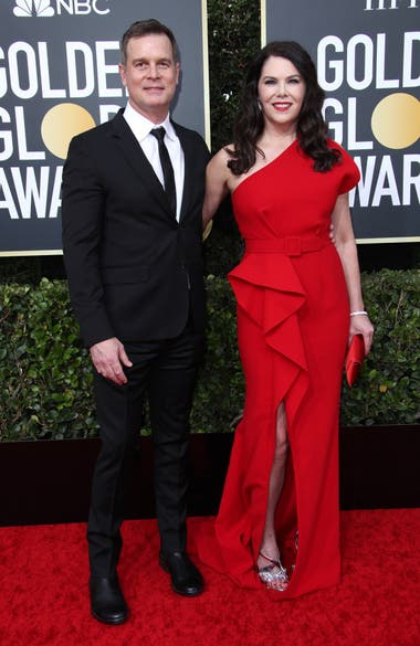 Lauren Graham y Peter Krause