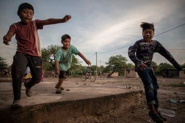 Niños de la comunidad El Cañaveral 1