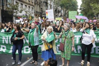 Referentes del movimiento feminista y por el aborto legal