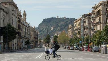 En ciudades como Barcelona el número de casos obligó o a adoptar medidas muy estrictas